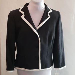 NWT Lauren Ralph Lauren linen suit jacket size 10